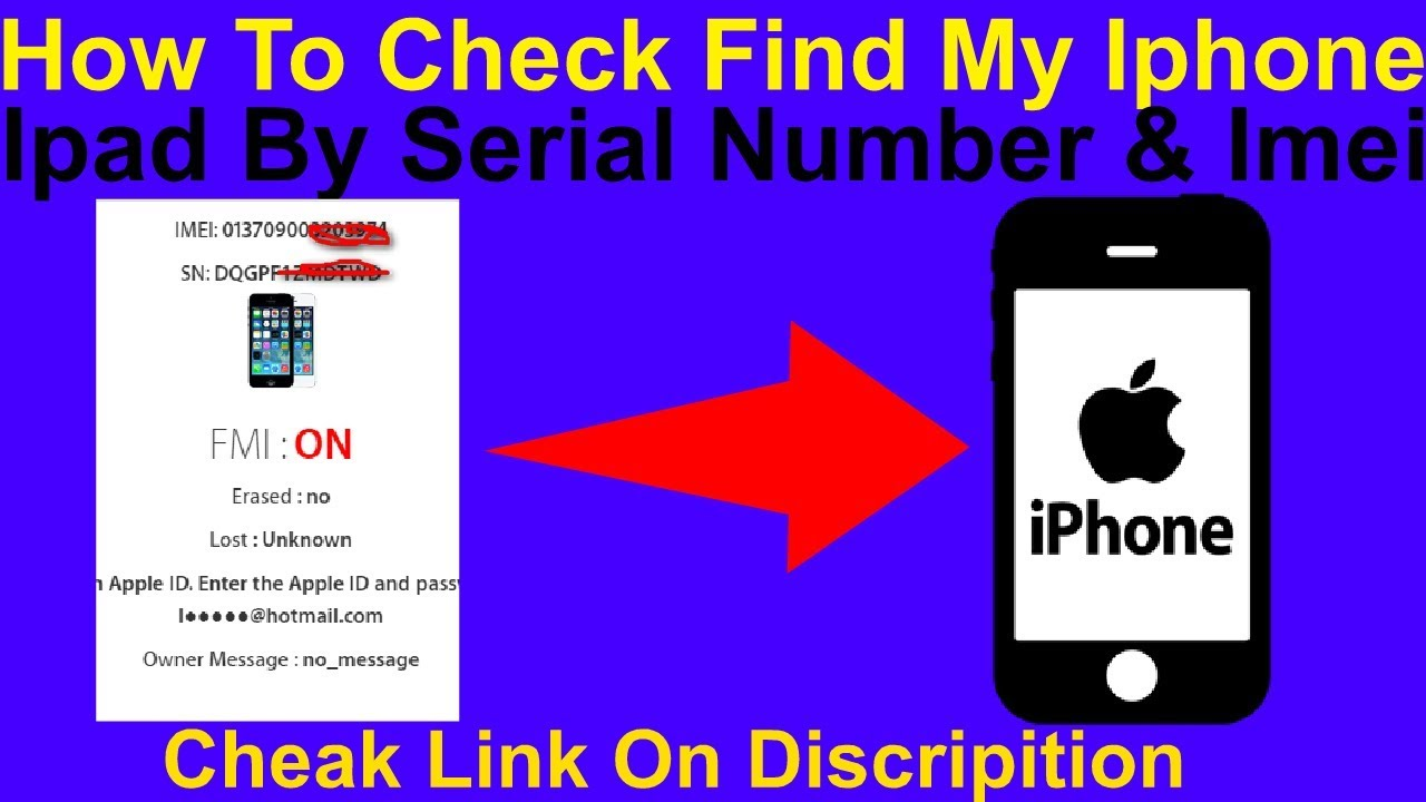 iPhone serial number check