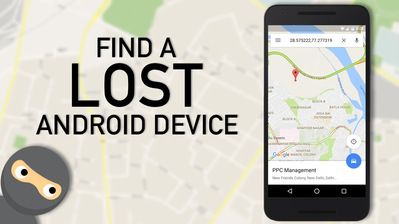 Find my device google account
